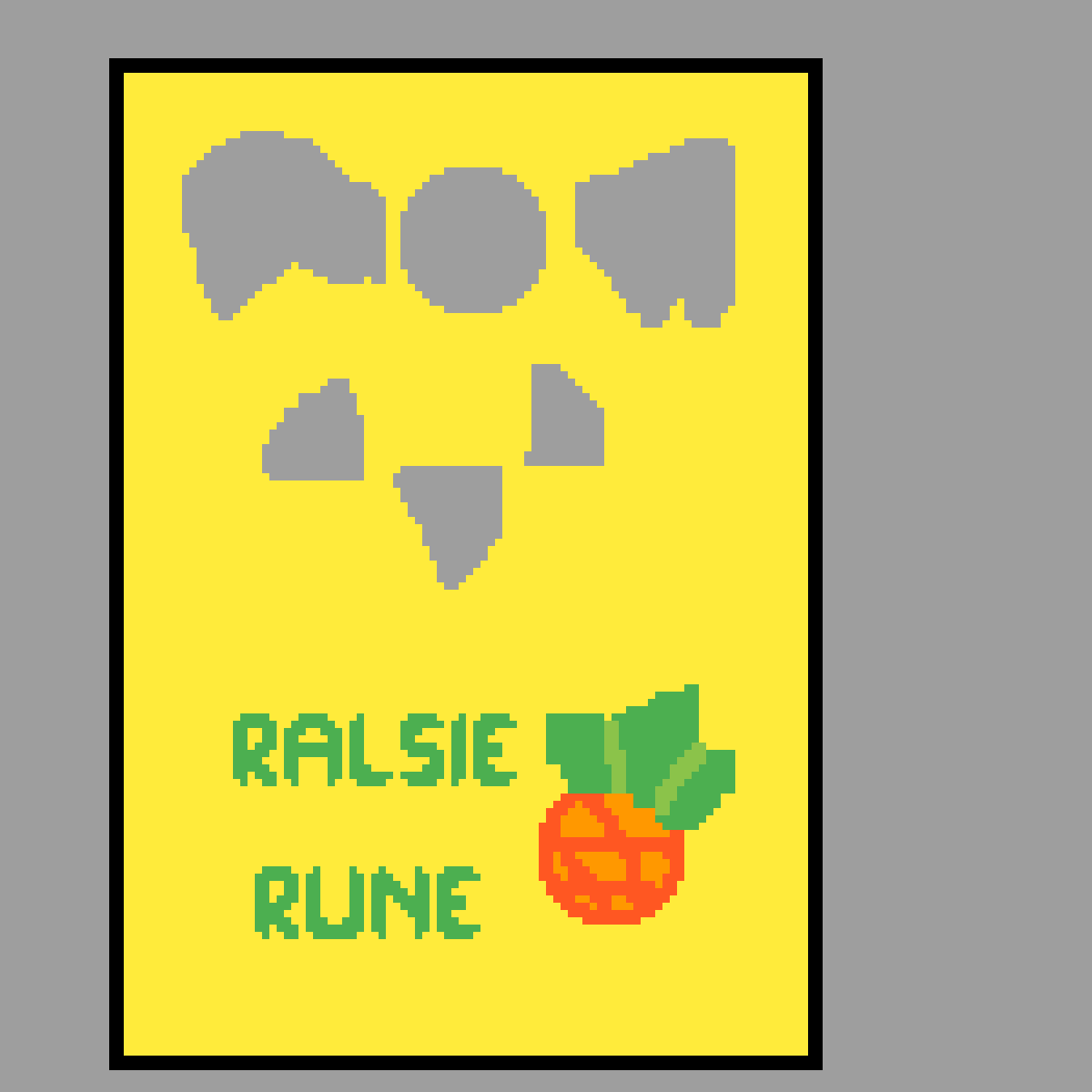 Here is the request 4 the Ralsie rune banner by draw-with-me