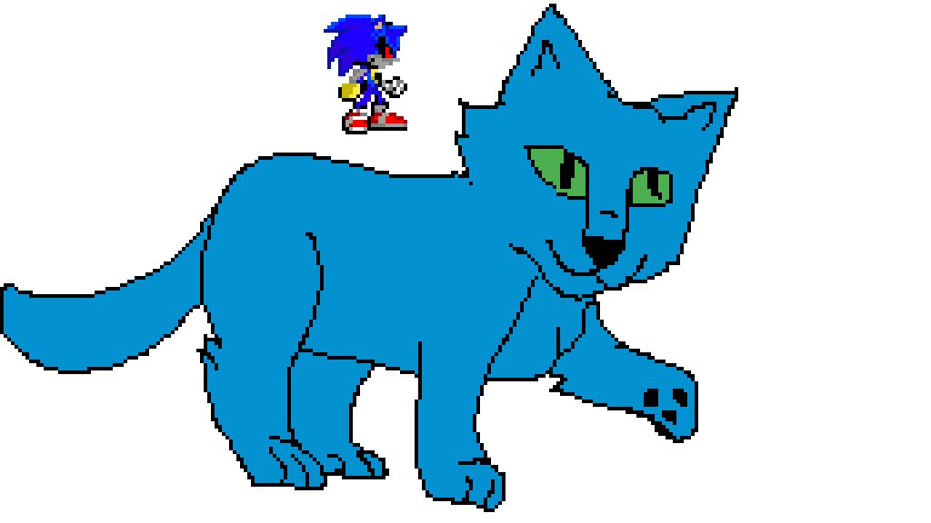 sonic by gamer-dog