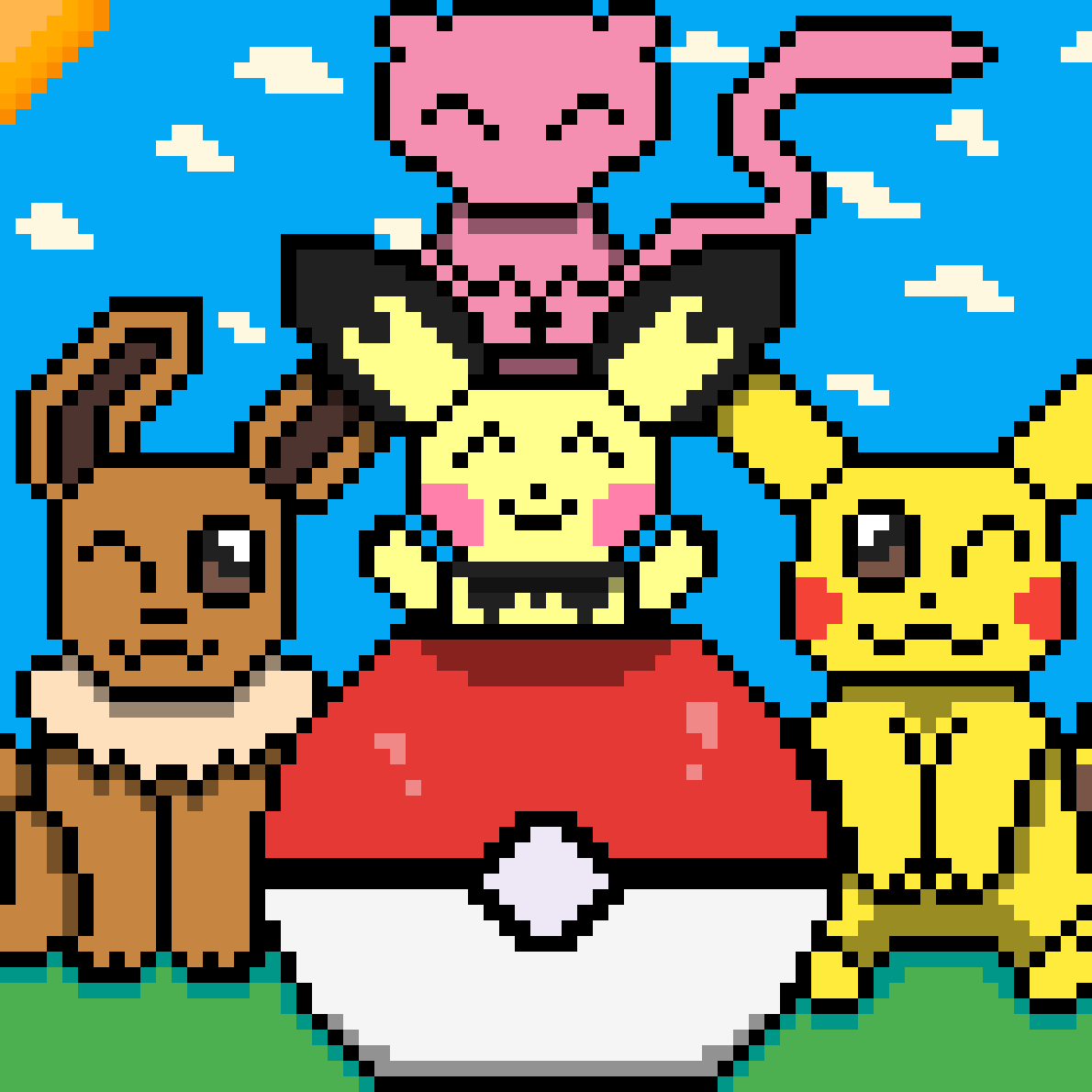 pokemon ( fan art )