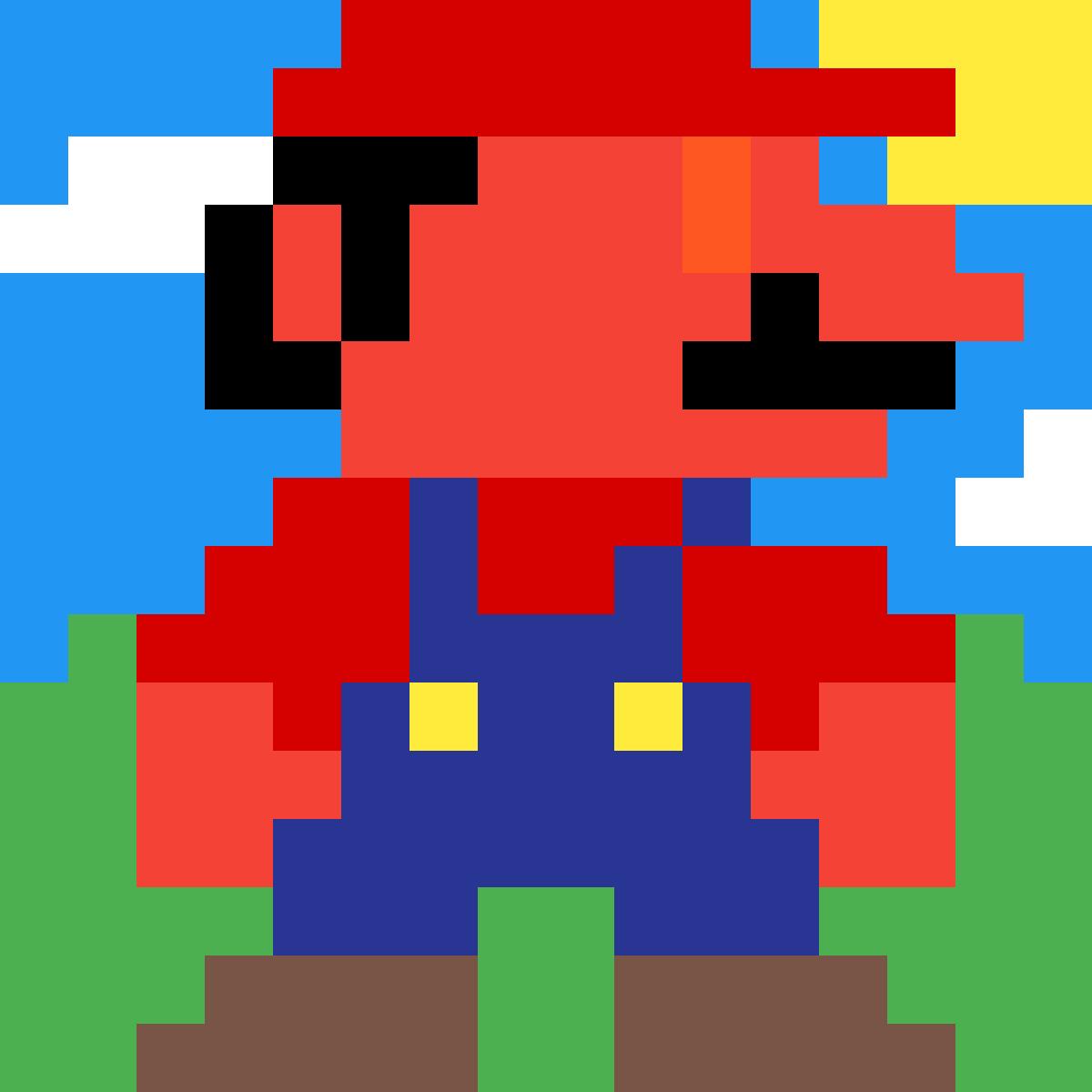 Pixilart Devil Mario By Meelesman