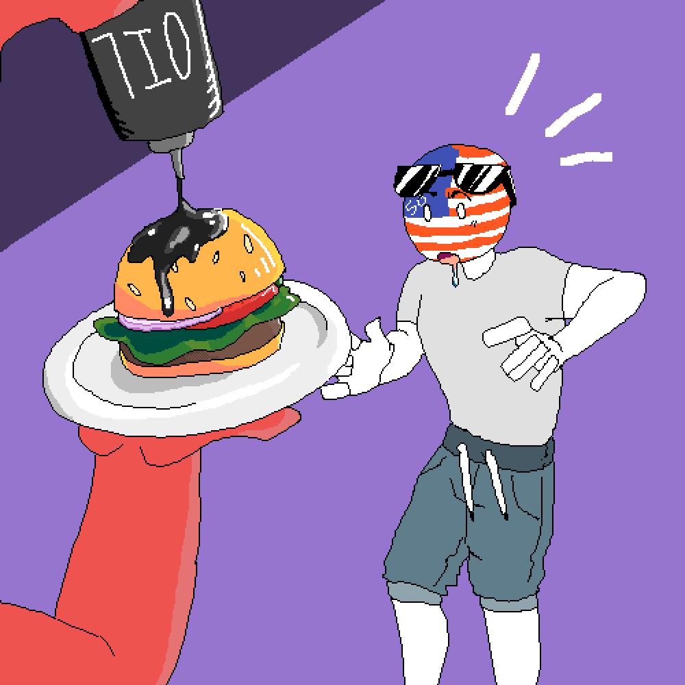 Oil Burger by NeonMatriXD