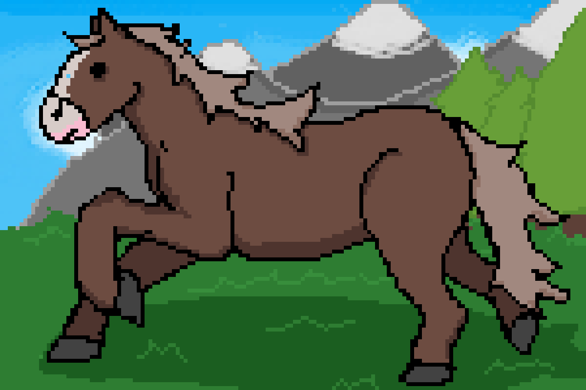 Horse by LionArtist