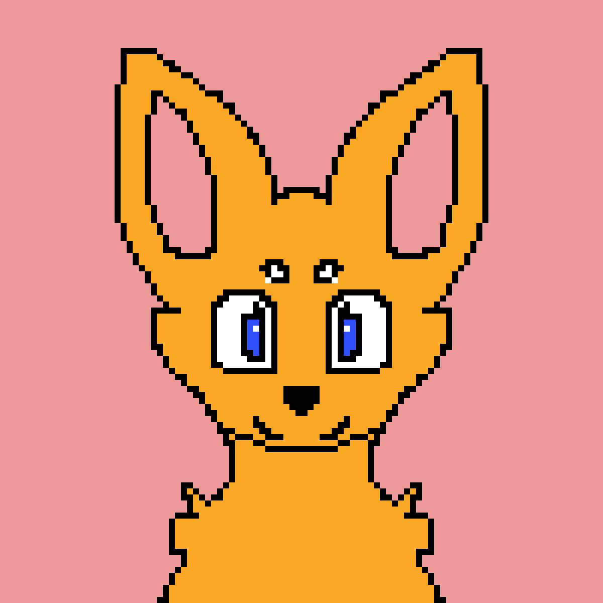Cute Fox I guess:3 by bohemianl0ser
