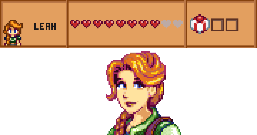 Leah from Stardew Valley by Vintageshore