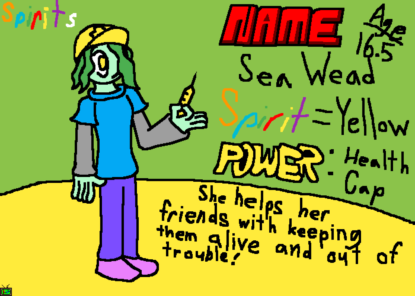 Spirits Sea Wead Bio by Gaming04