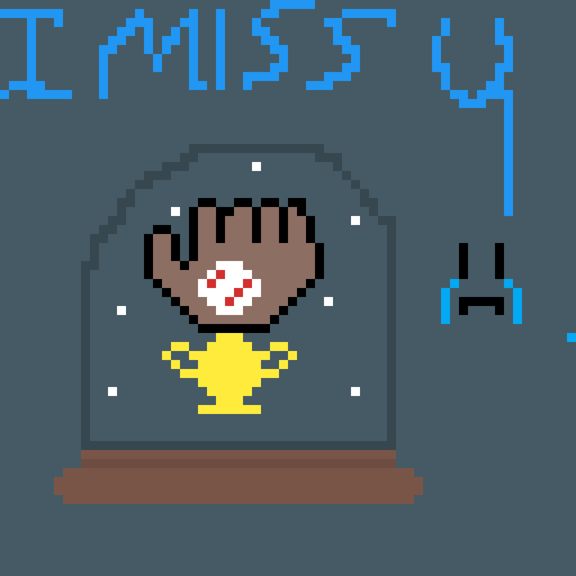 I miss you brother  by GlueGamer