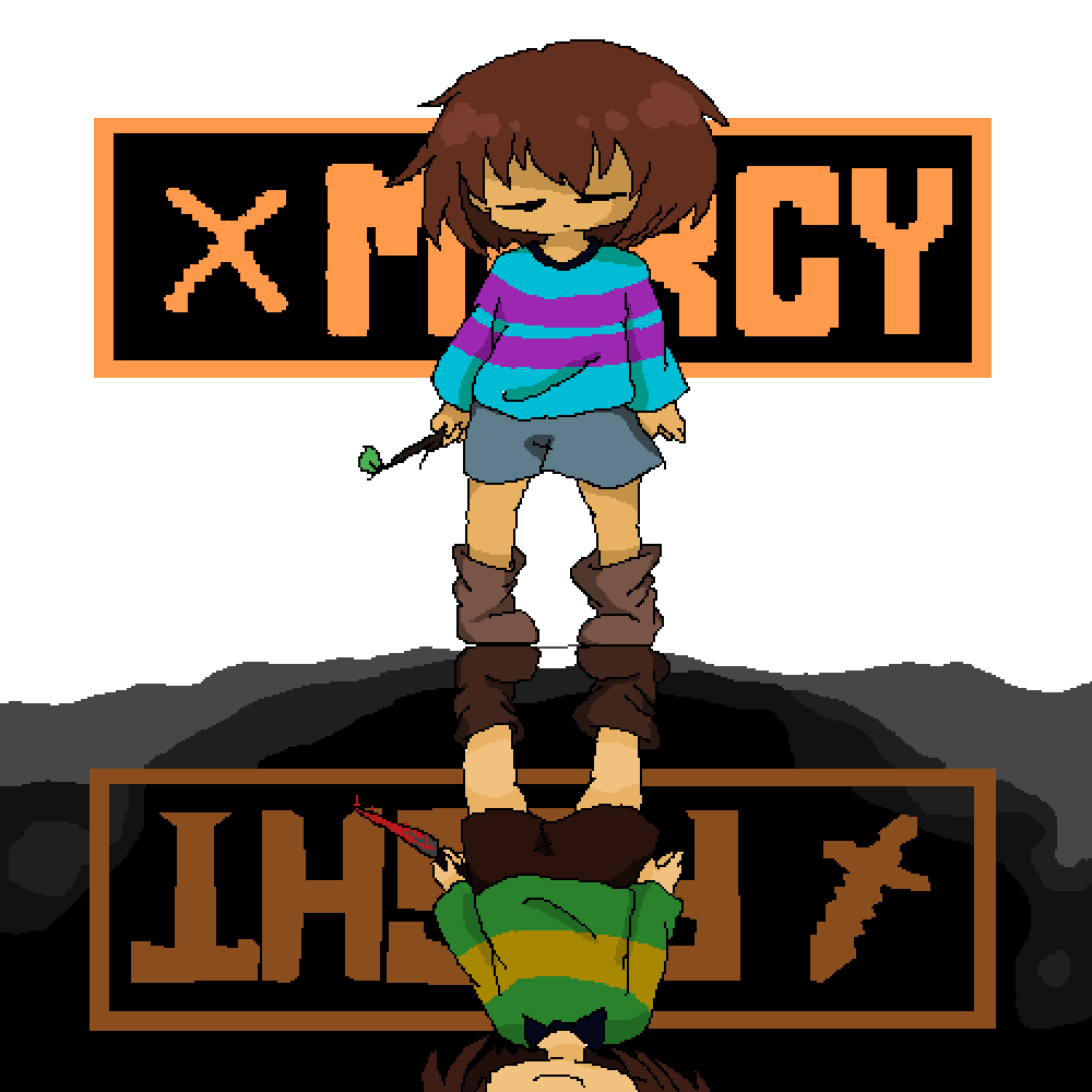 main-image-Frisk And Chara  by UnknownDrawer