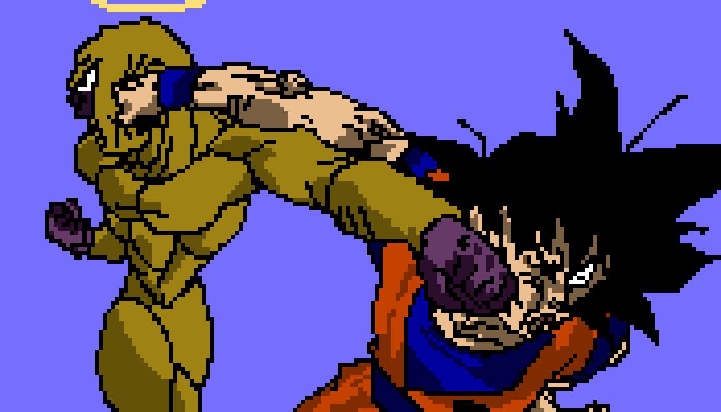 Goku vs Frieza by Gennarelli