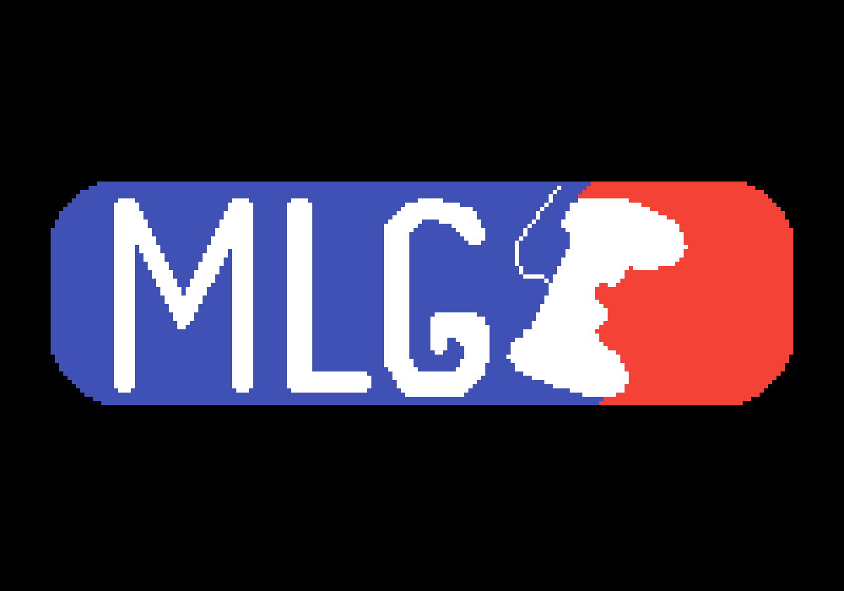 pixilart major league gaming mlg logo by stefanelos