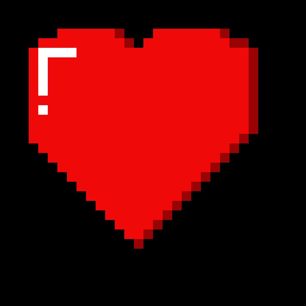 Как сделать сердце в майнкрафт
