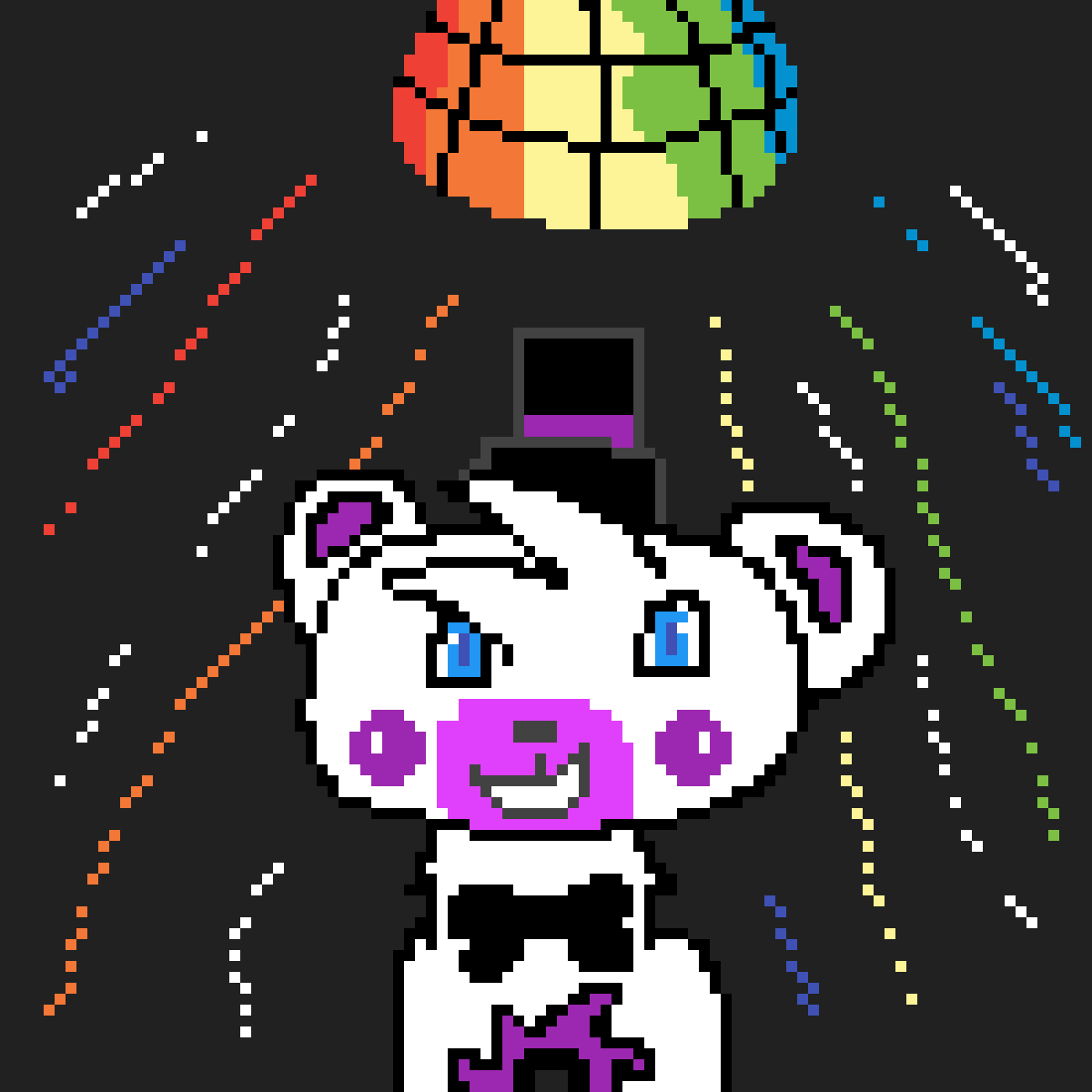 Funtime Freddy havin' a FUNTIME!!!