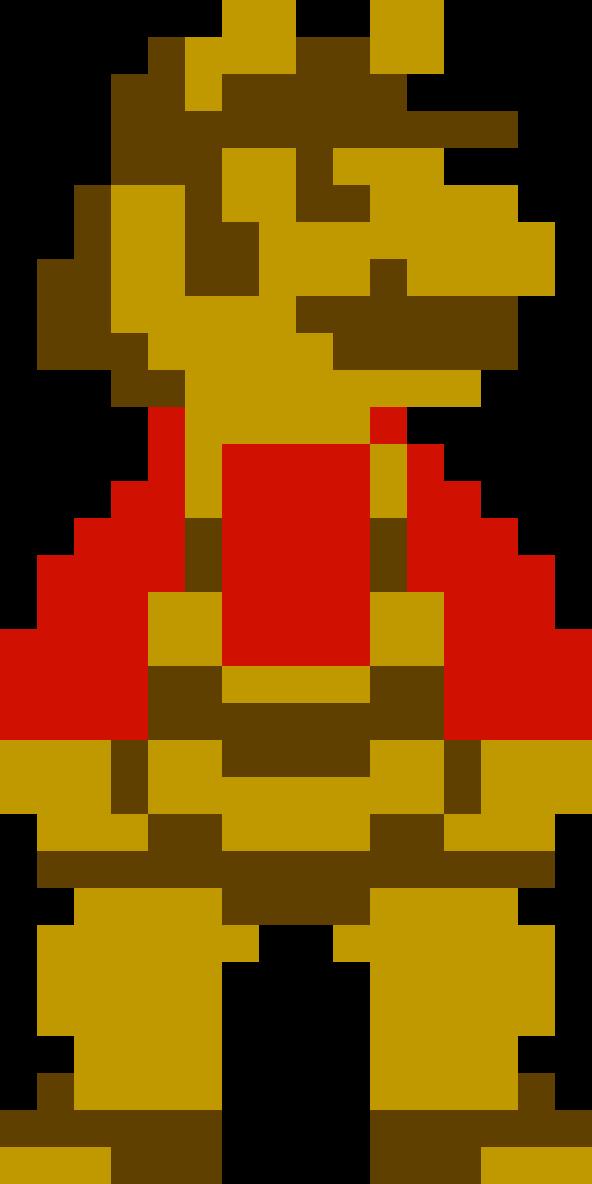 Bee Mario from Super Mario Galaxy (NES-style) by Chikorita-Lover