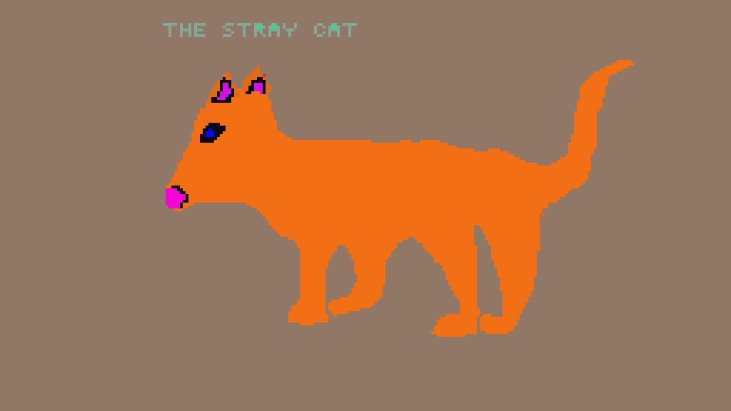 The stray Cat by Audey-playz