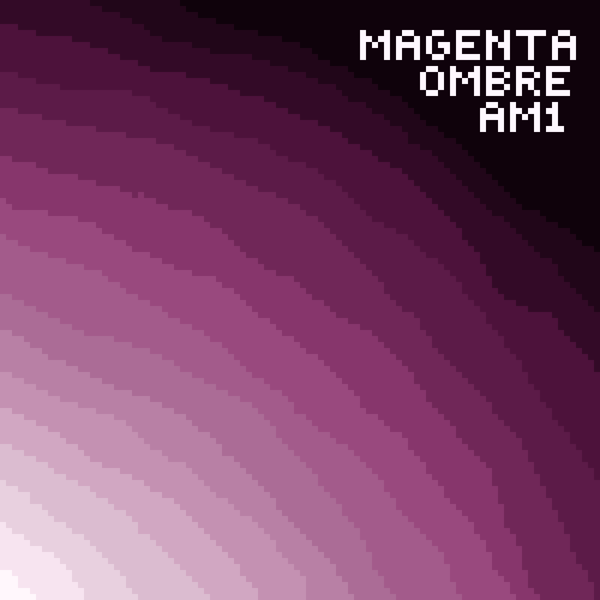 Magenta Ombre by AM1