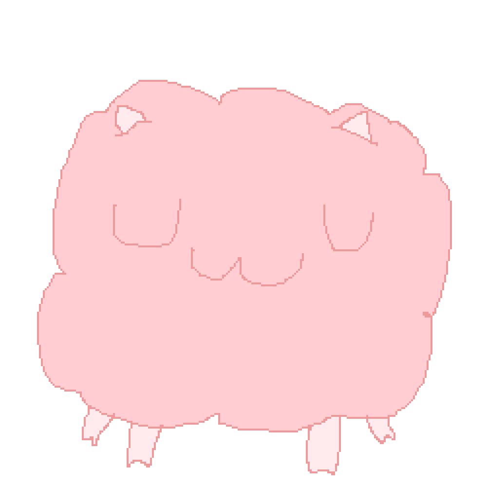 UwU sheep flof thing by Mister