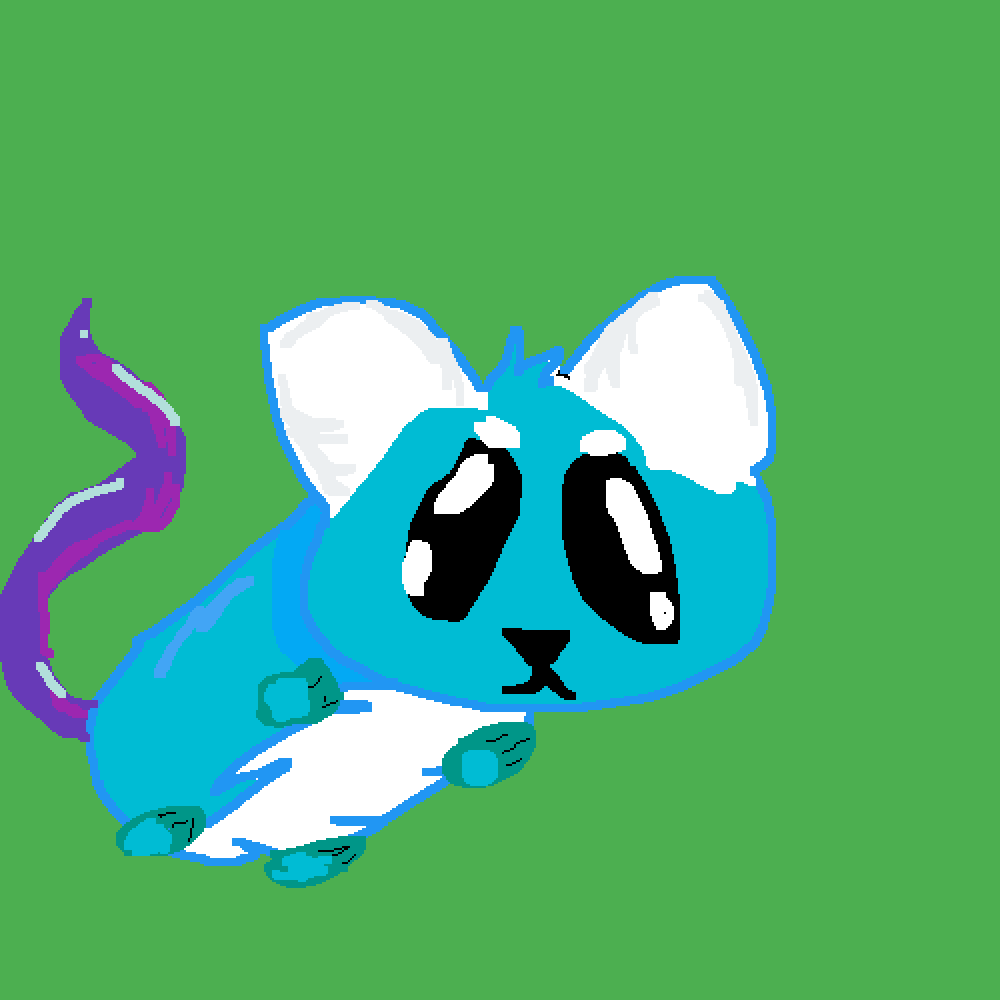 snowflake-Hamster OC by epicpixels