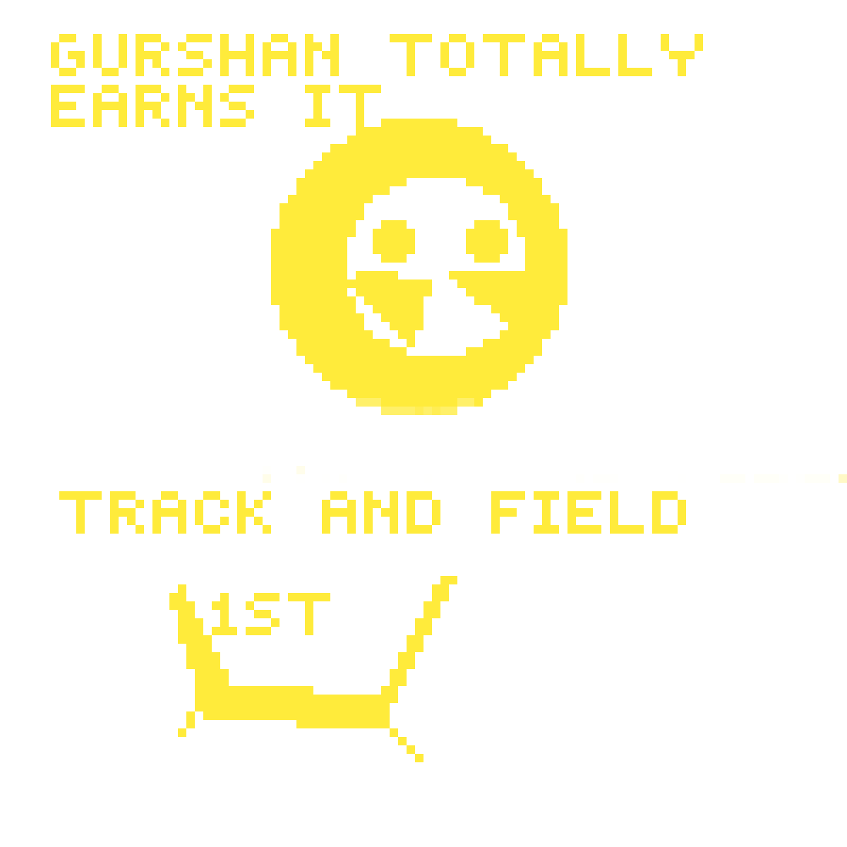 Track and field ribbon by VortexGaming5