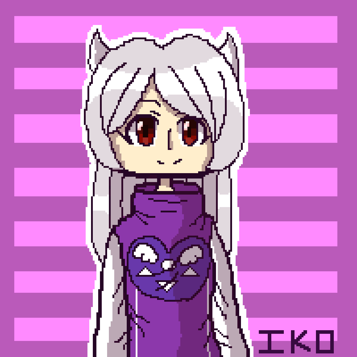 Toriel As A Human (UNDERTALE) by IKO-PIXEL-ART