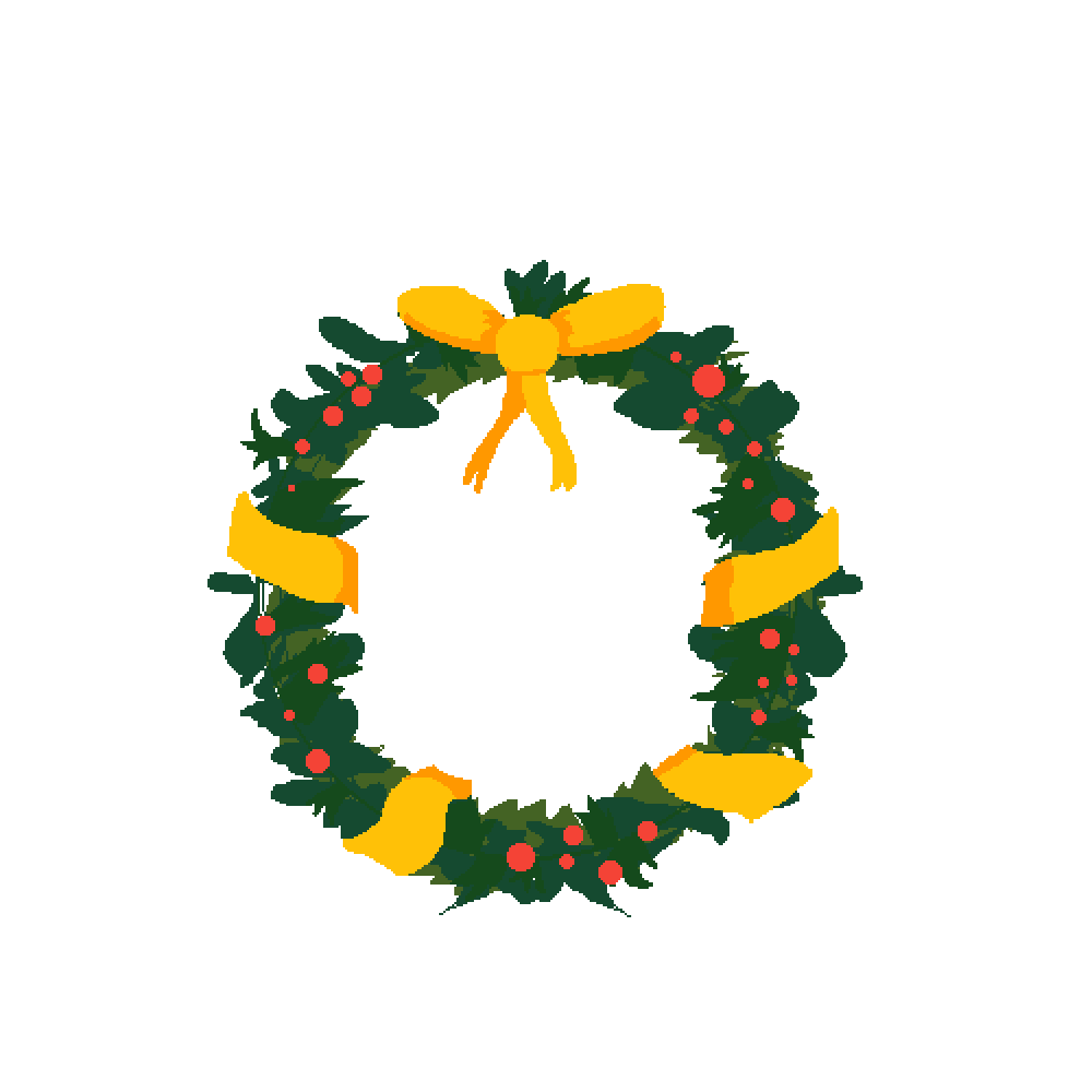 main-image-Christmas Wreath  by D3rpyCake