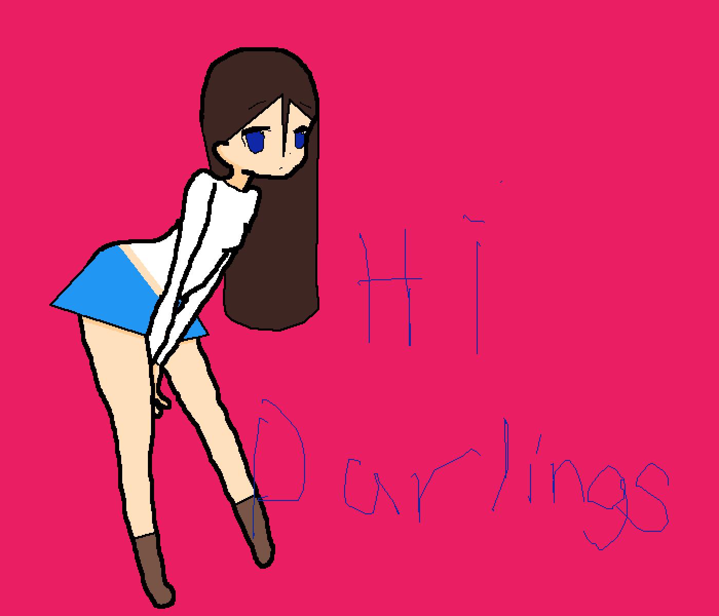 hi darlings by aphmoo123456789