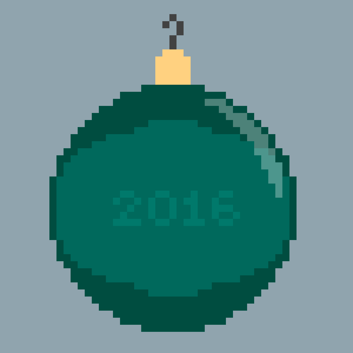 2016 Ornament by AceEverwoode