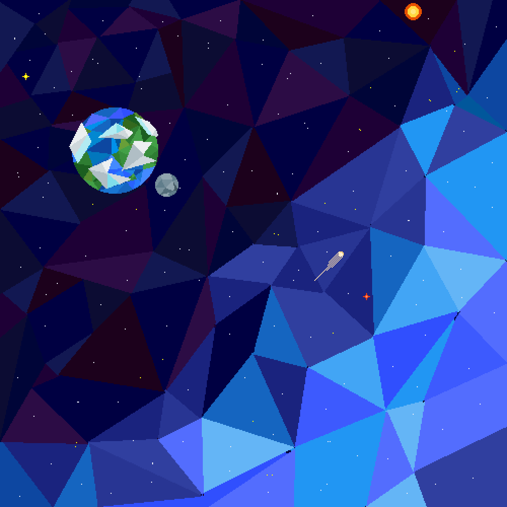 main-image-Galactic Polygons  by Cynical-Pixel