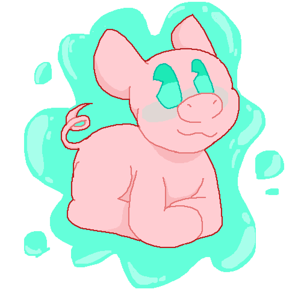 Pig by AliceDraws