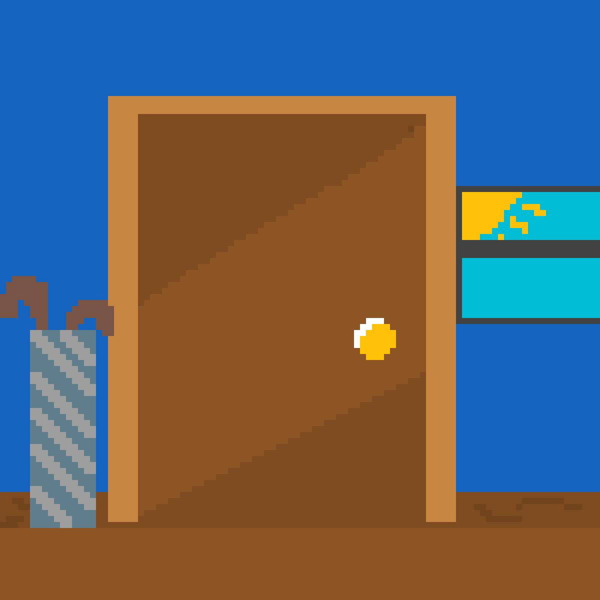 Door. by kylovestodraw