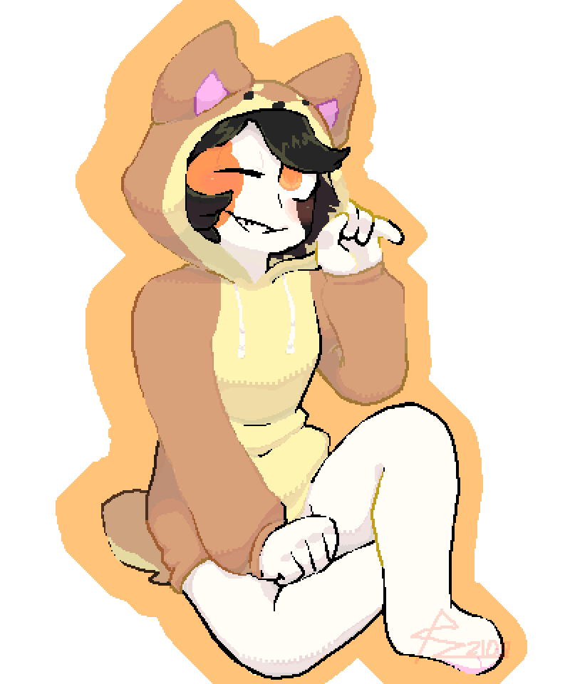 Look at this cute little dog by PandaZ
