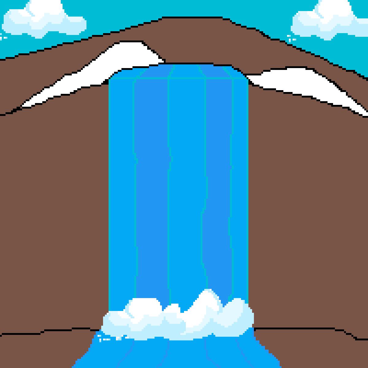Waterfall by kaneki-52617