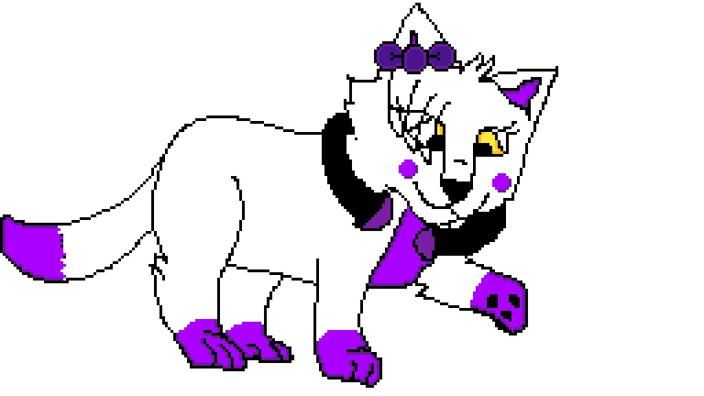 Lora as a cat by MangleTangle