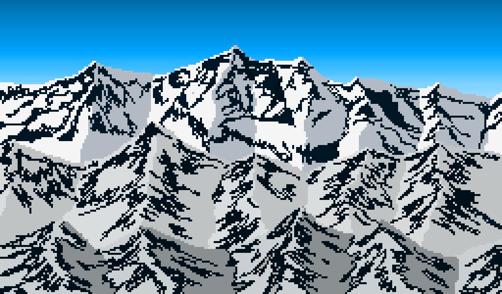 Snowy Mountains by Atomas