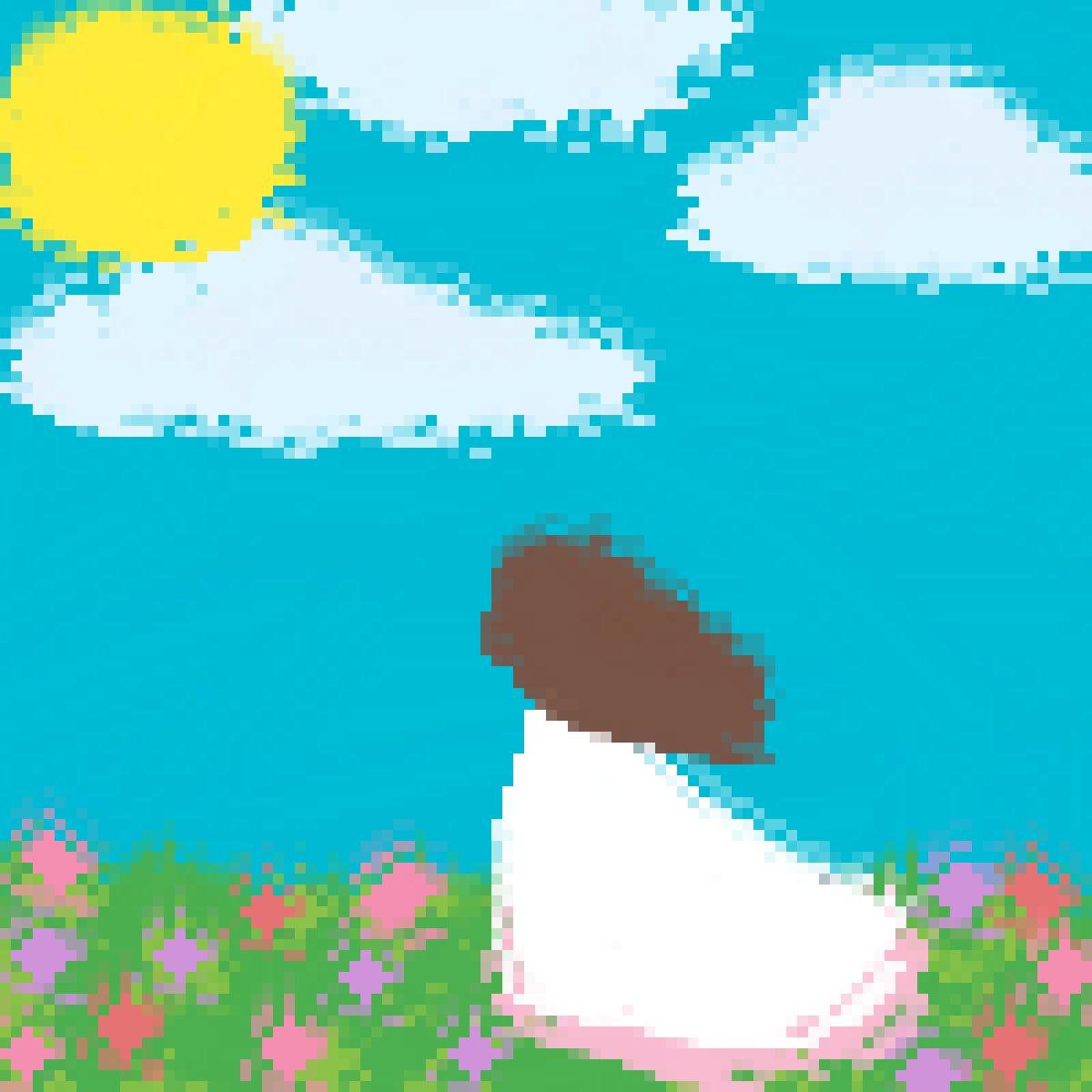 menina no campo by Daesook
