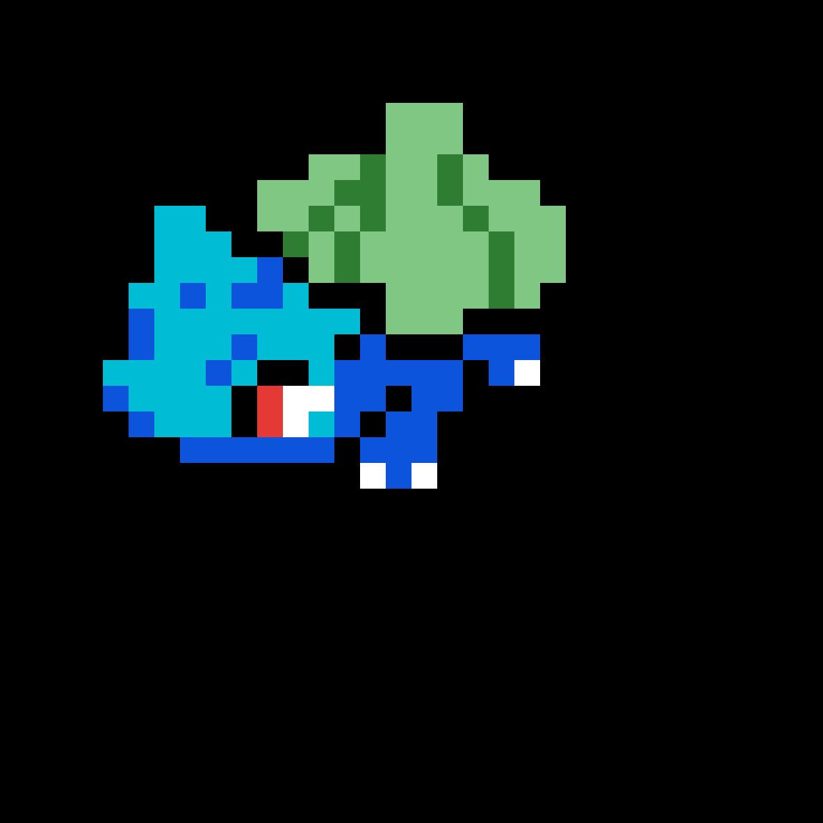 Bulbasaur Art by Hyrax