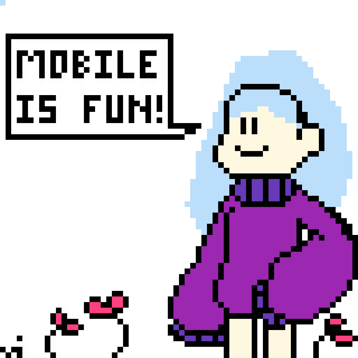 Mobile IS fun by BobbleTheBubble