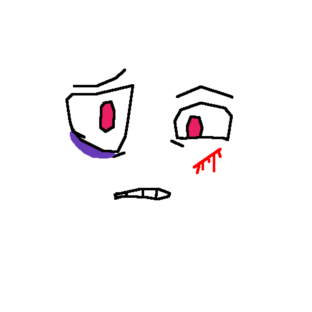 ROBLOX Face Making: Hurt REMAKE By AbslyeTheCat