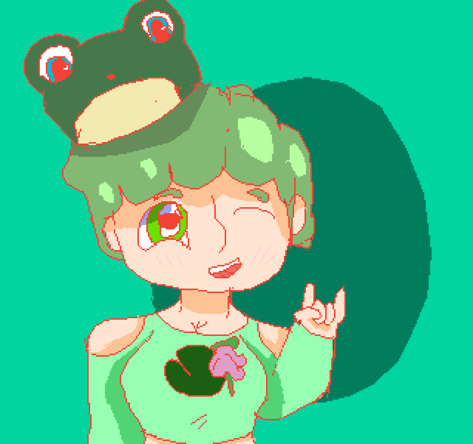 frog girl by Shadowcatz