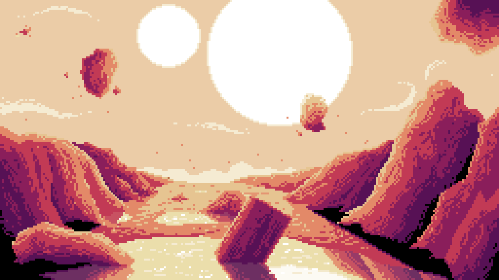 main-image-More floating rocks  by darkstar