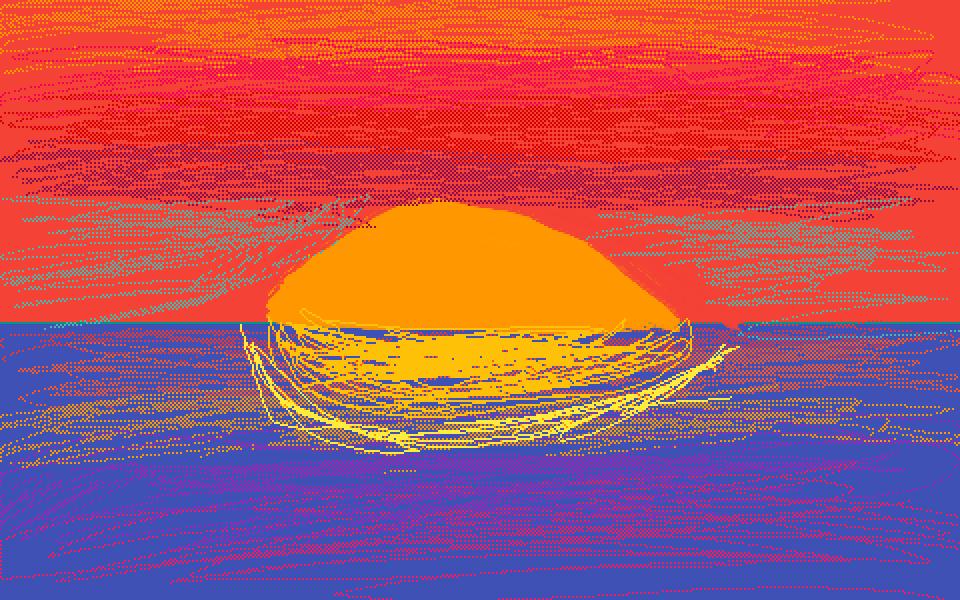 Pretty Sunset by Swim4life