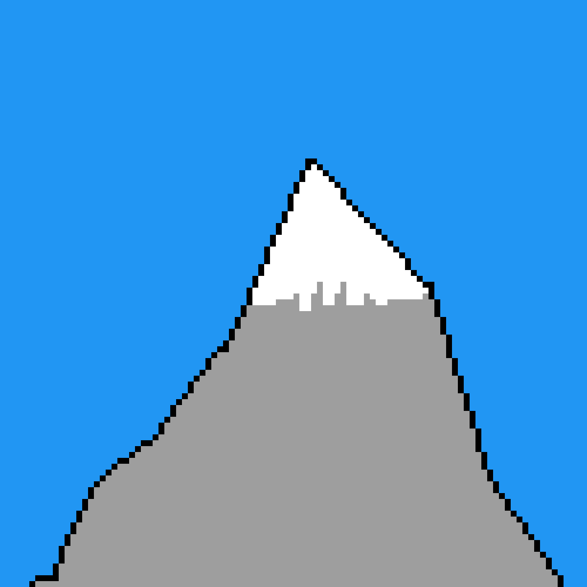 Snow Mountain by WhatsUpDanger