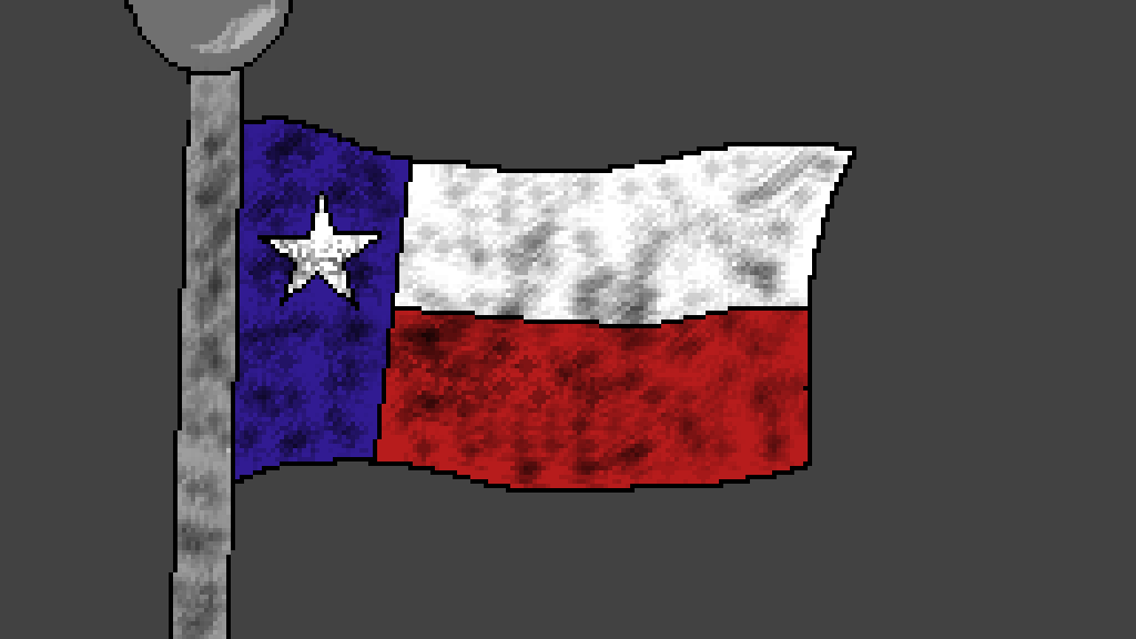Texas Flag by Zer0-B1ackF1re