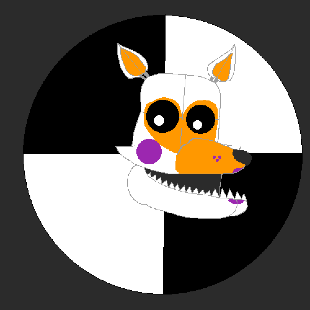 First Attempt TO Draw Lolbit by MemeBoi