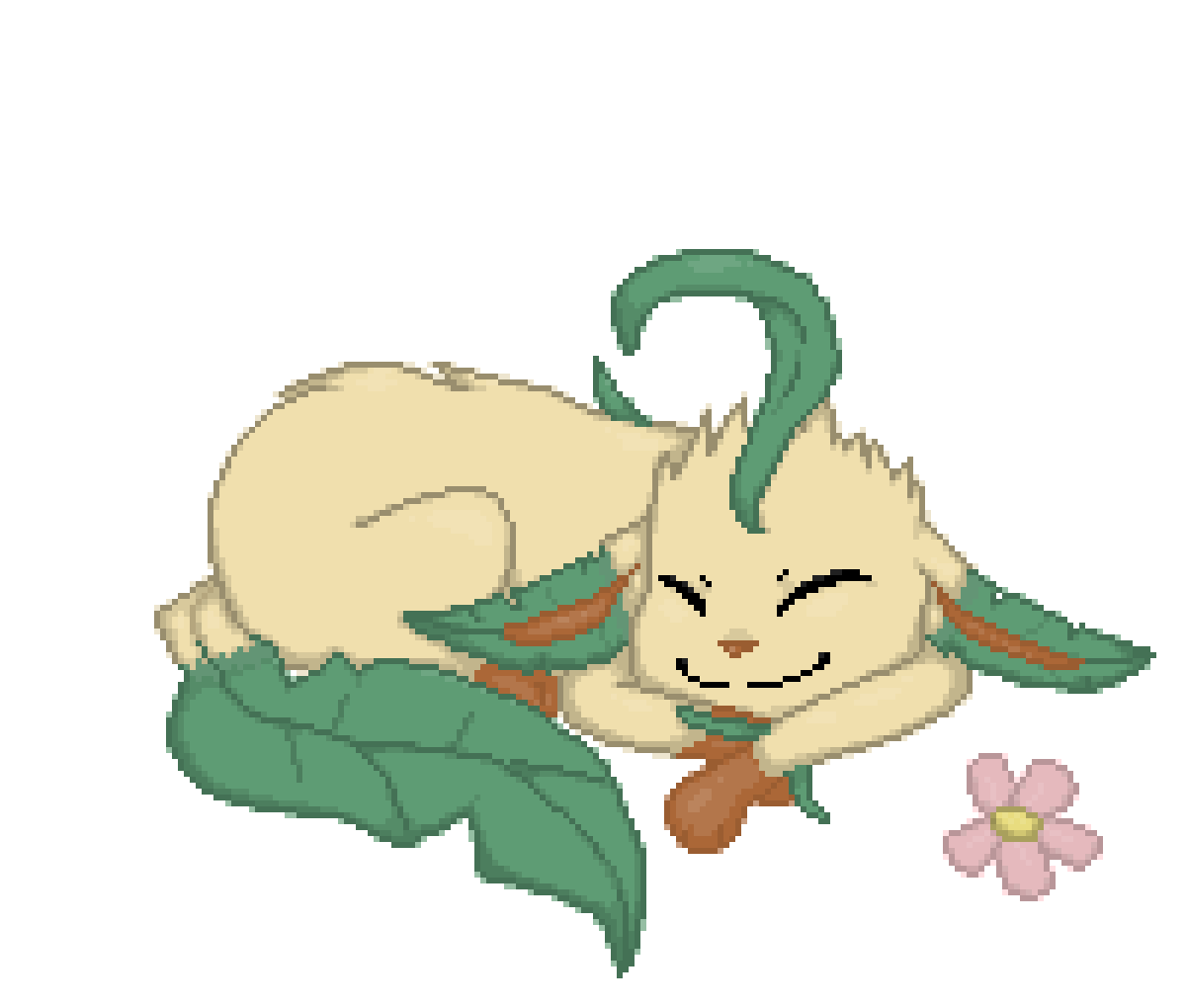 Leafeon (part 2!) by Yucker