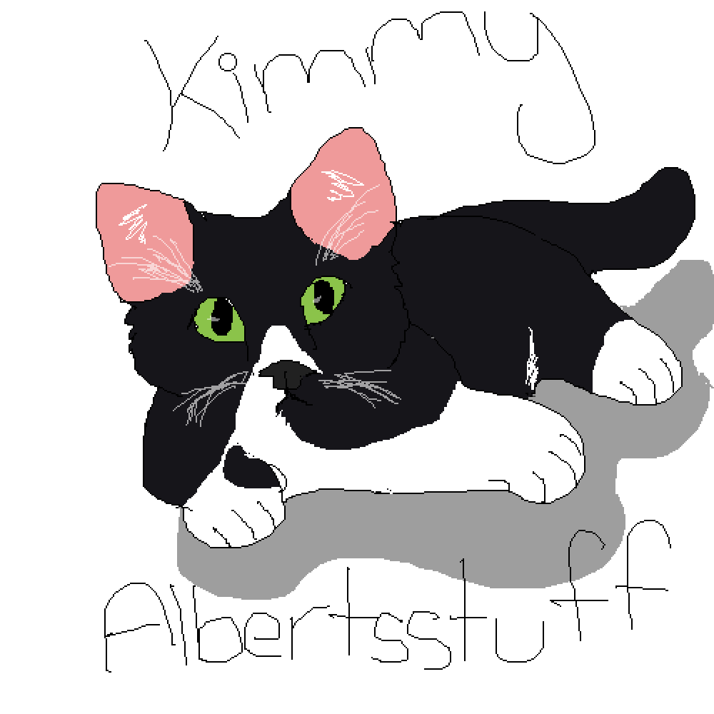 Kimmy, albertsstuff/flamingo's cat