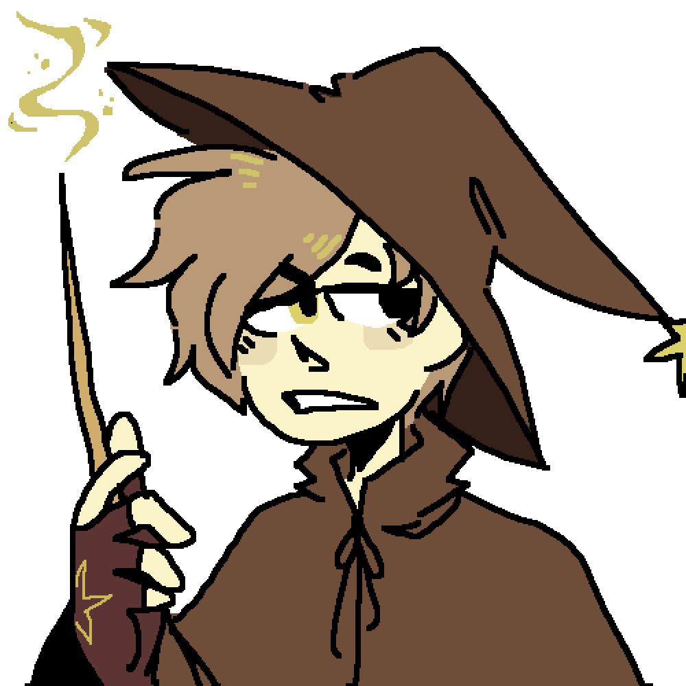 main-image-wizard kiddo  by BluuArts