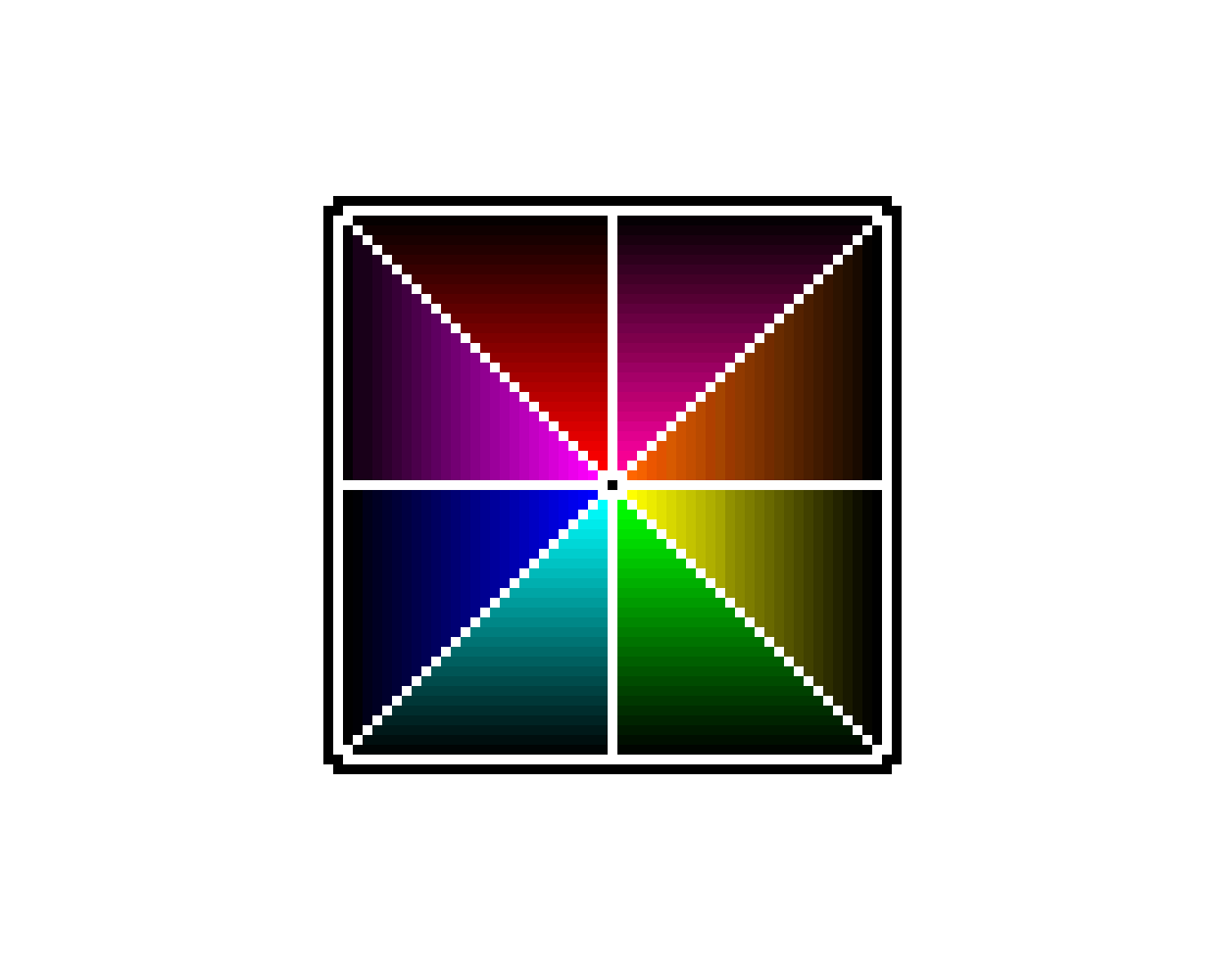 ROYGBIV Square by CobaltCat