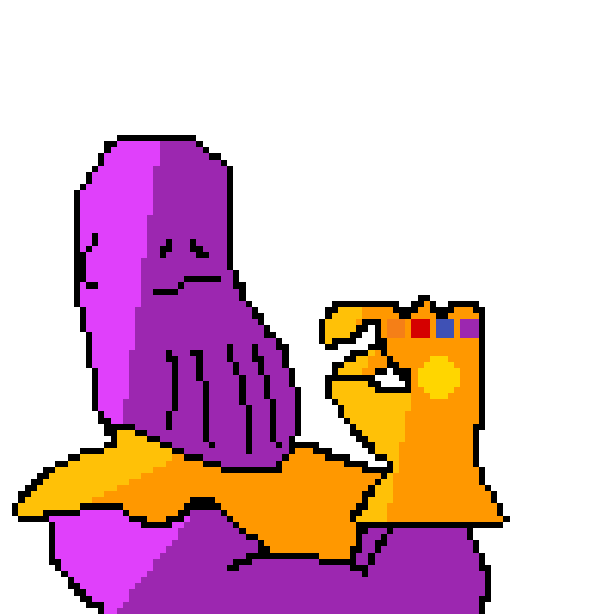 Thanos by piggy121