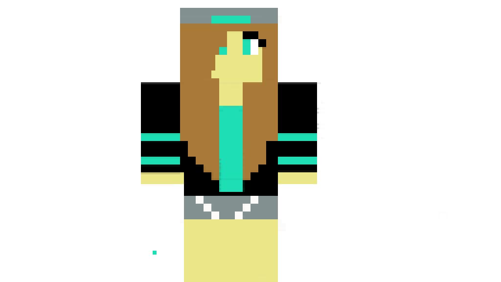 Pixilart Swag Minecraft Girl By Minecraft Maker