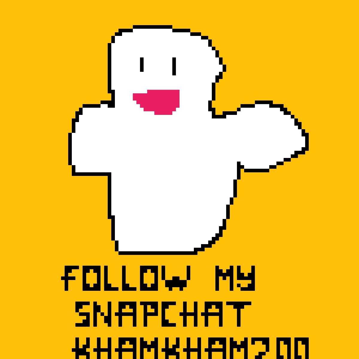 follow my snapchat khamkham200 by infinite-kham