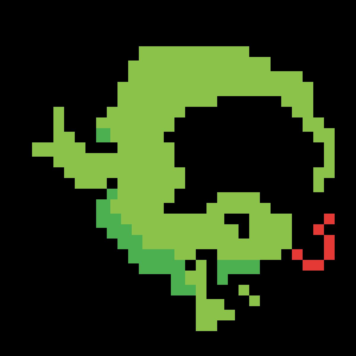 lizard, because I'm weird by mcdonough